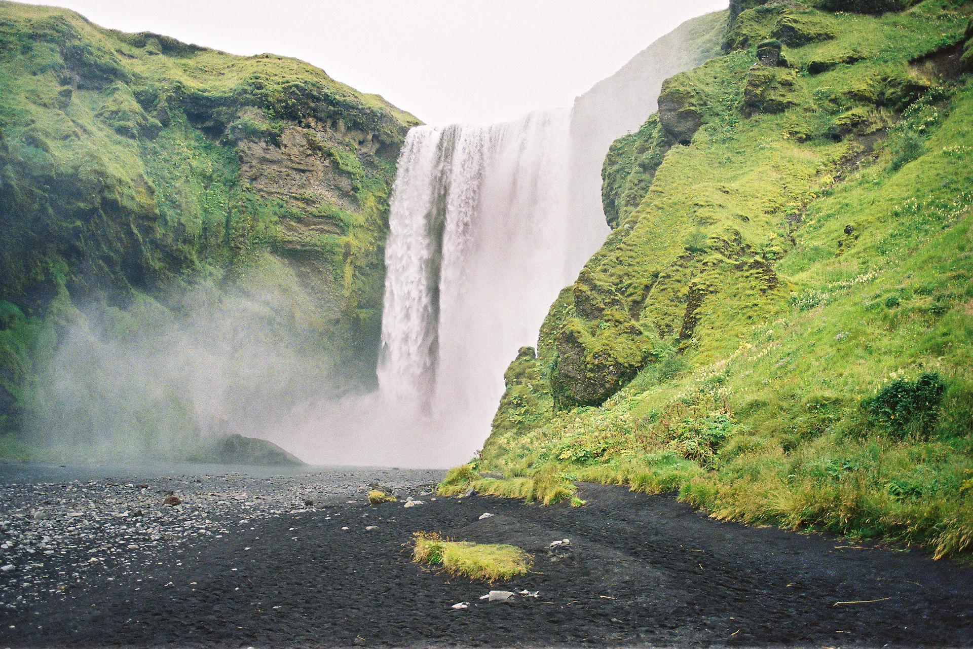 La côte sud de l'Islande