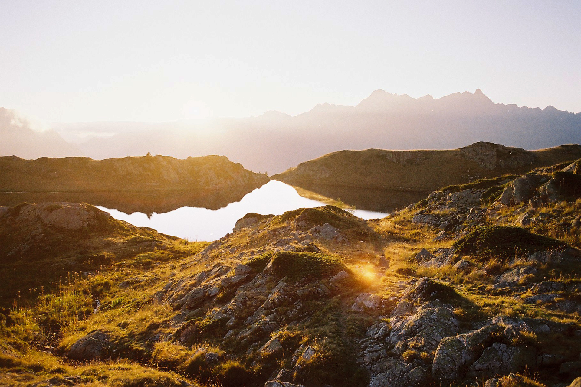 Les petits lacs de l'Alpe d'Huez